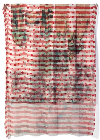 lattice hoarfrost by robert rauschenberg