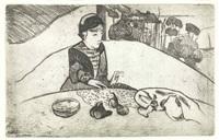 la femme aux figues by paul gauguin