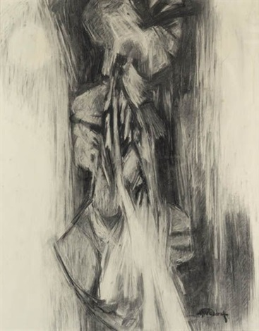 enigmatic figure ii by hale aspacio woodruff