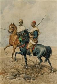 cavaliers arabes by giuseppe gabani