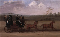 the brighton to london coach by george arnull
