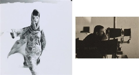 le mannequin carla marlier en robe dior lanvin castillo autoportrait de guy bourdin 8 works by guy bourdin