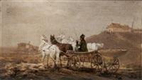 pferdefuhrwerk by joseph wolfram