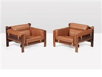 lounge chairs (pair) by percival lafer