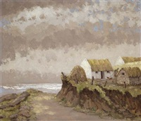 the sky road, near clifden, co. galway by mabel young