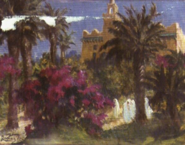 le belvédère à tunis by jeanne janoge