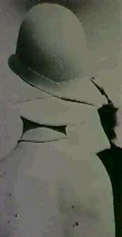 femme au chapeau by brigitte langevin