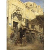 l'ingresso alla moschea by cesare biseo