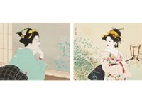 young leaves by shoen uemura