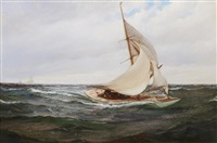 gusty winds by montague dawson