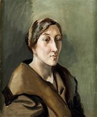 portrait de pauline coulon by léopold survage