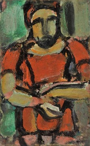 légionnaire romain by georges rouault