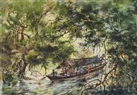 through jungle waterways, malaya by abdullah ariff
