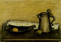 stilleben i brunt by mikko laasio