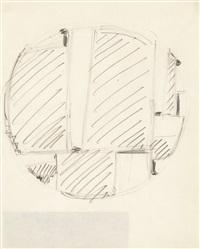 tondo (studie) by fritz glarner