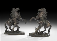 coustou_guillaume marly horses by guillaume coustou the elder