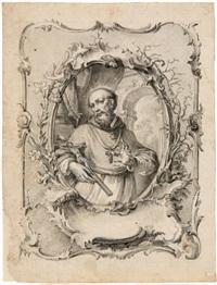 der heilige salesius by johann wolfgang baumgartner