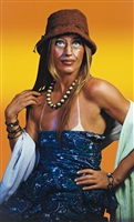untitled (self portrait with sun tan) by cindy sherman