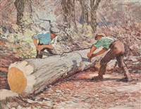 the woodcutters by james hamilton mackenzie