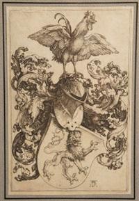 les armoiries au coq by albrecht dürer