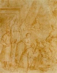 die geburt des heiligen johannes by giovanni (il cosci) balducci