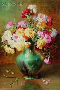 bouquet of carnations by emily selinger