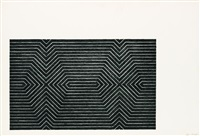 turkish mambo (from black series ii) by frank stella