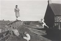 paul, stella and james, scotland by linda mccartney