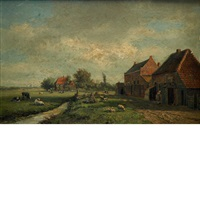 farm in heemstede by gesina johanna francina vester