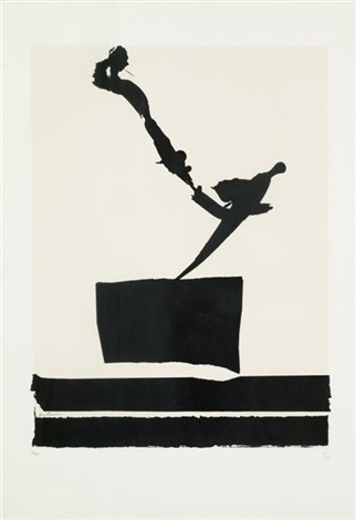 africa 5 from africa suite by robert motherwell