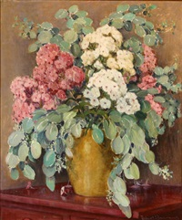 floral still life by frederick almond zimmerman