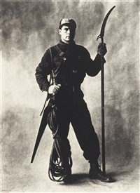 tree pruner, new york by irving penn