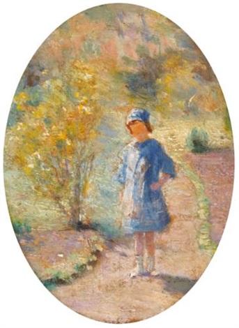 portrait of ginette duchesne by ivan pavlovich pokhitonov