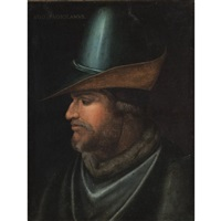 portrait of uguccione della faggiuola by cristofano di papi dell' altissimo