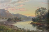 kilchurn castle by william scott myles