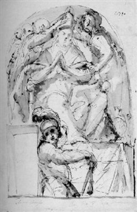 the coronation of a pope by fulgenzio mondini