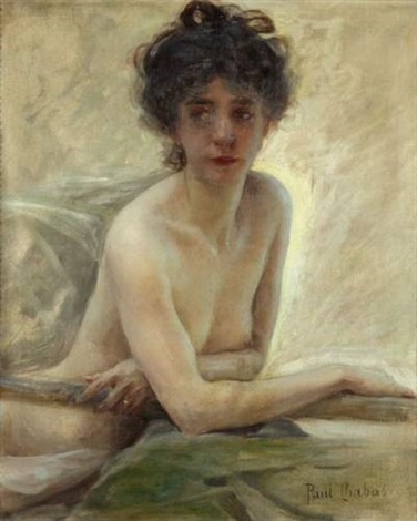 Portrait De Femme Dénudée By Paul Emile Chabas On Artnet