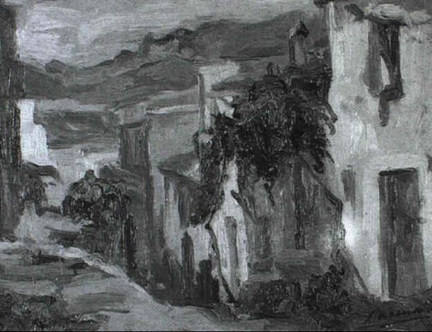 pueblo del pirineo by joaquim asensio