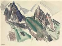 white mountain country, summer no. 29, dixville notch no. 1 by john marin