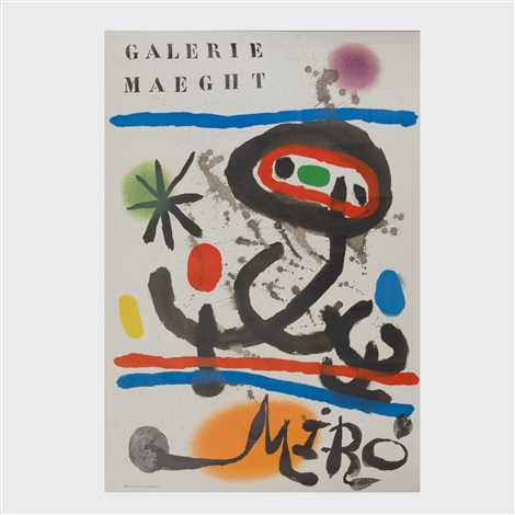 three galerie maeght posters by maeght galerie publisher on artnet