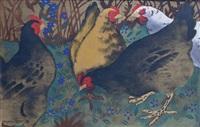 les poules by georges manzana-pissarro