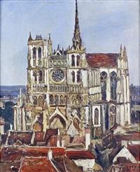 la cathédrale d'amiens by marcel françois leprin