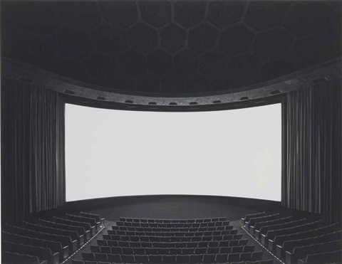 cinerama dome hollywood by hiroshi sugimoto