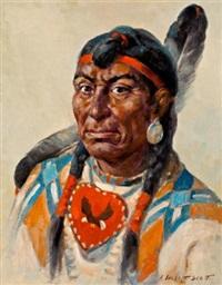 indian brave by adam sherriff scott