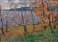 autumn by nikolai efimovich timkov
