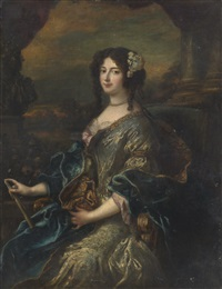 portrait of a lady by pierre mignard