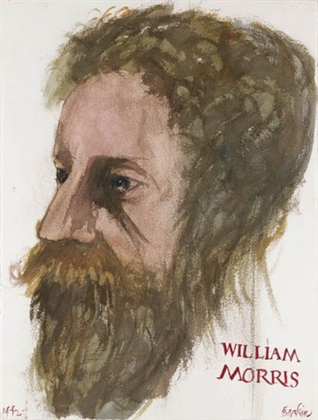 william morris by leonard baskin
