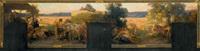 la récolte abondante (study) by pierre puvis de chavannes and victor koos