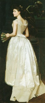 portrait of adeline cook by arthur pope