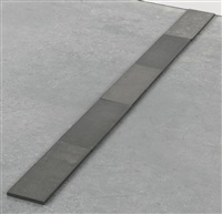 5 bright and dull magnesium line (in 5 parts) by carl andre